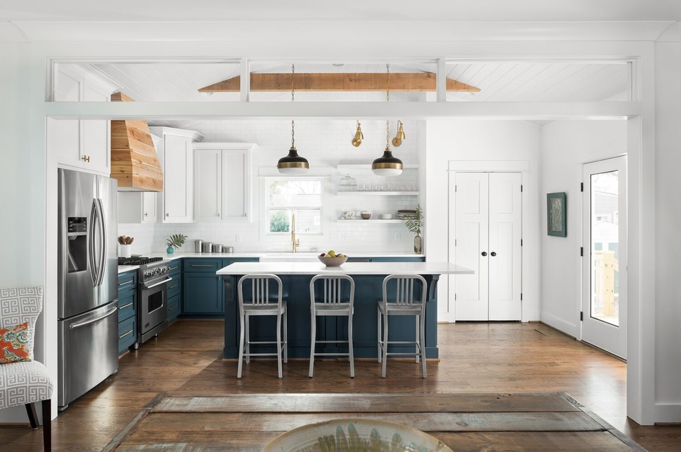 Birmingham Rampart White Home - Transitional - Kitchen ...