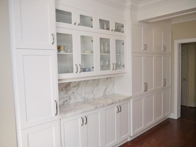 Birnbaum Residence transitional-kitchen