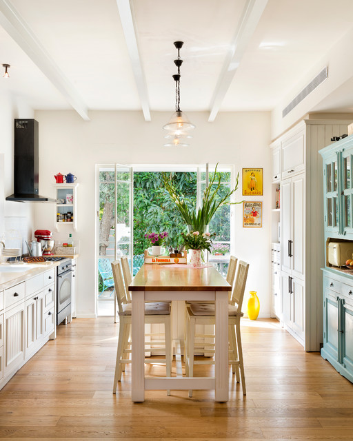 A Town house in Tel-Aviv eclectic-kitchen