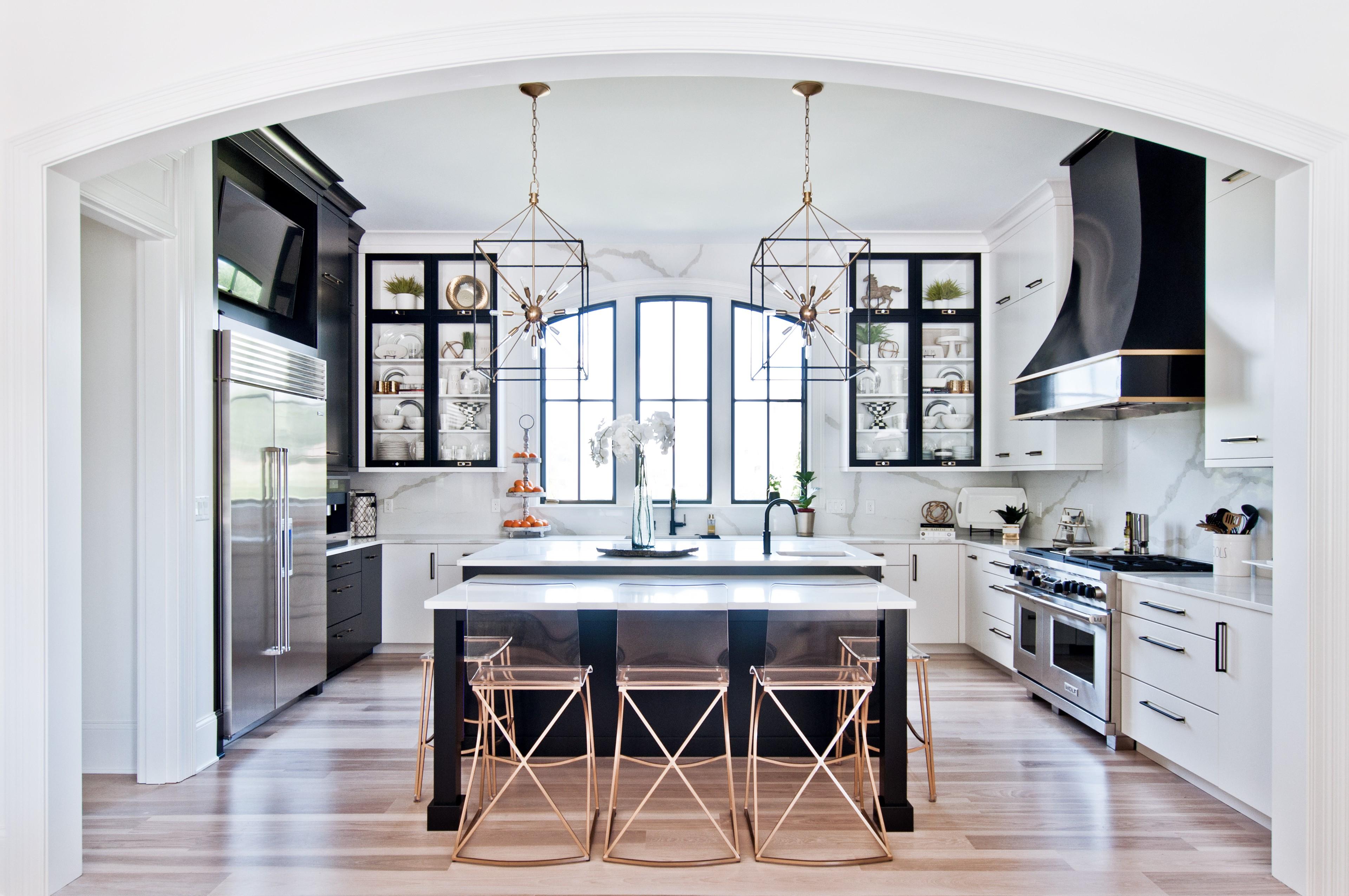 houzz white kitchens
