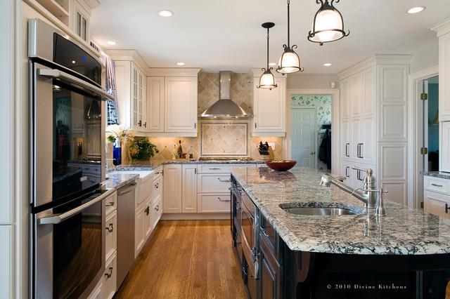 Black & White traditional-kitchen