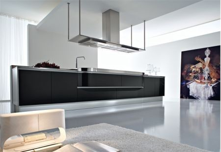 Black & White kitchens modern kitchen