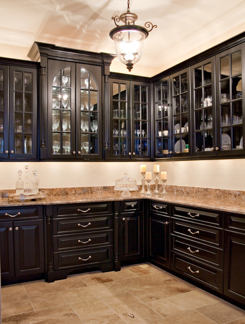 Black Butler's Pantry - Kitchen - Charleston - by ...