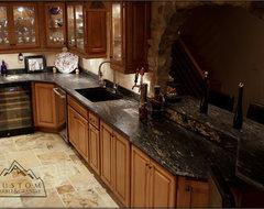 Tuscan Kitchen mediterranean-kitchen-countertops