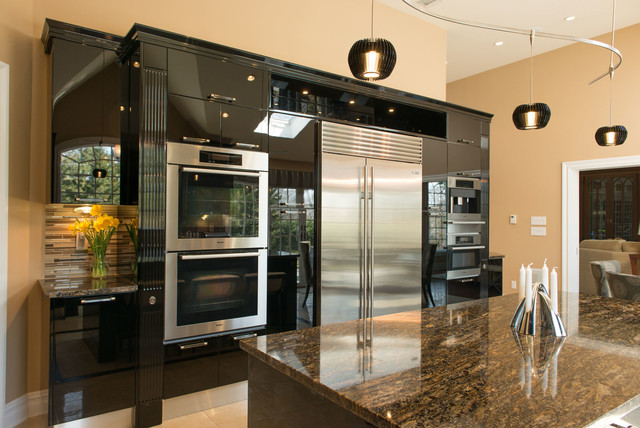 black high gloss kitchen pictures to pin on pinterest