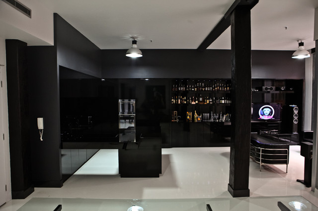 Black Magic - Teneriffe Woolstores contemporary-kitchen