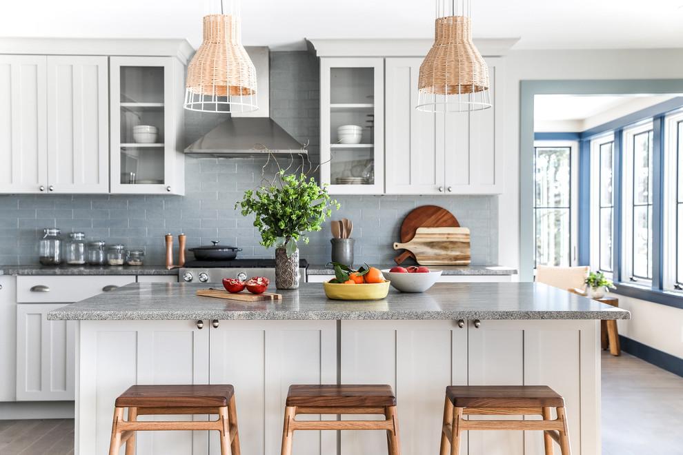 Black Rock - Modern - Kitchen - Portland Maine - by Tyler ...