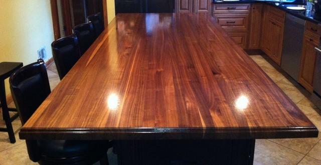Black Walnut Wood Countertops Kitchen Atlanta