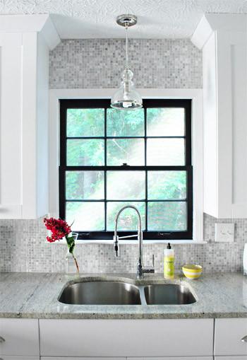 Black Window Sash - Traditional - Kitchen - atlanta - by ...