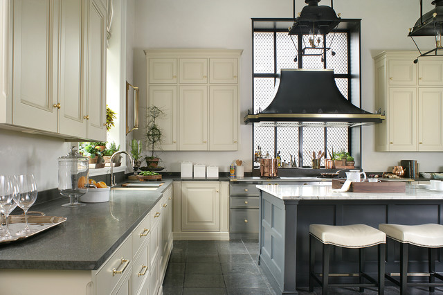 Blairsden Kitchen 2 Traditional Kitchen New York By Canterbury Design Kitchen Interiors