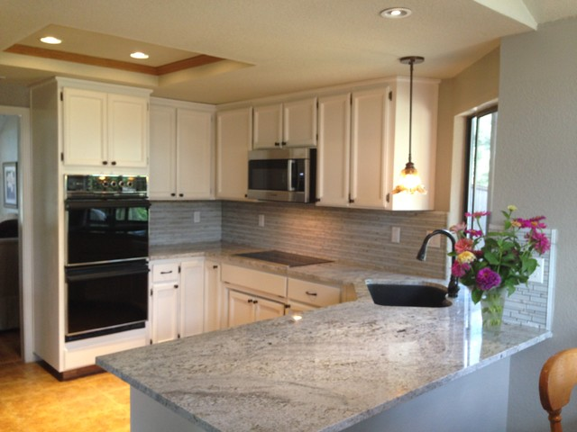 Blanco Gabrielle Granite beach-style-kitchen
