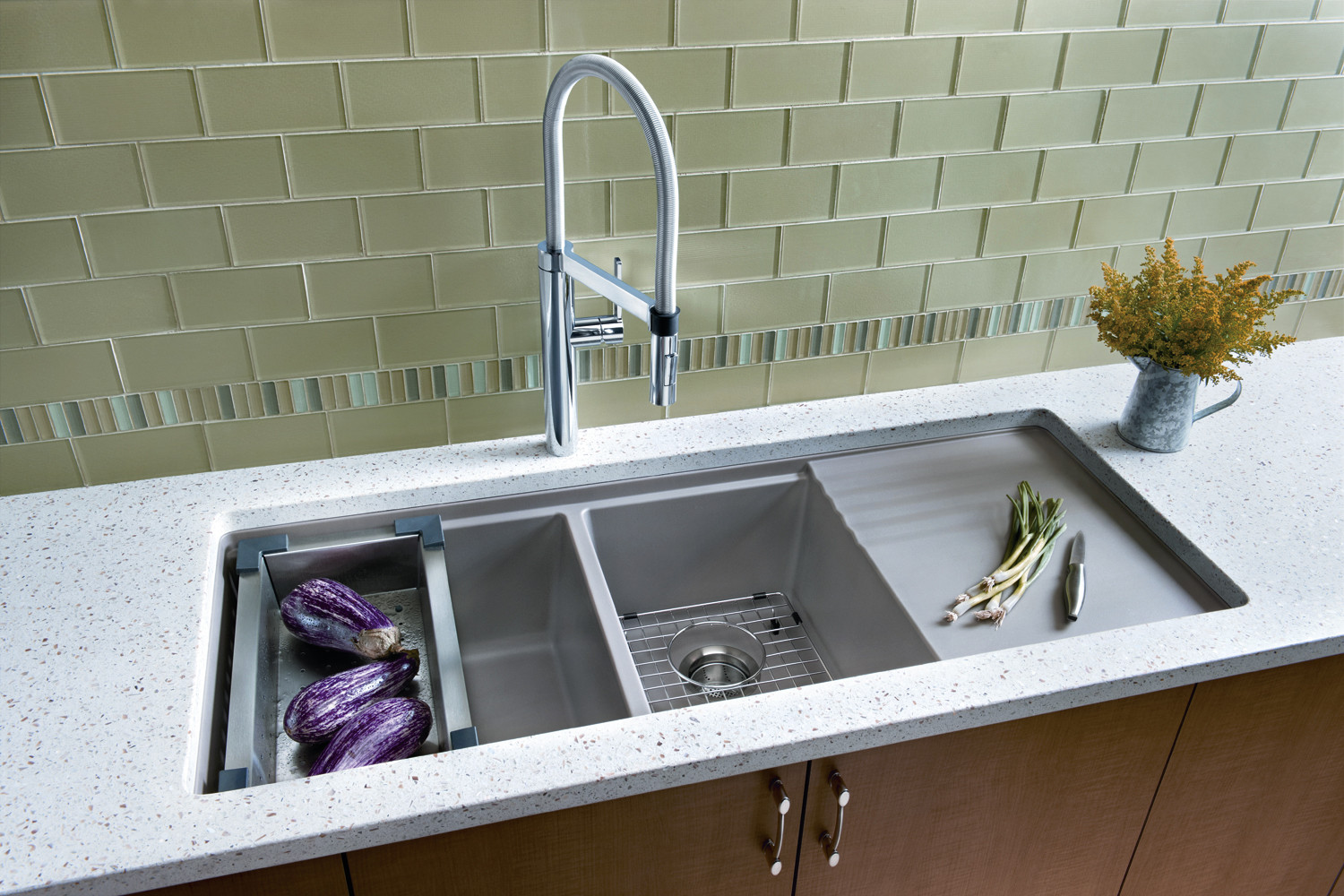 Built In Drainboard Houzz