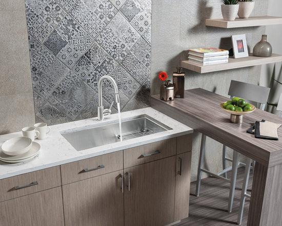 Mirror splash kitchen design ideas renovations photos for Kitchen ideas westbourne grove
