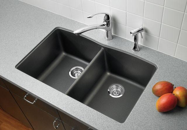 Blanco Silgranit Kitchen Sinks Contemporary