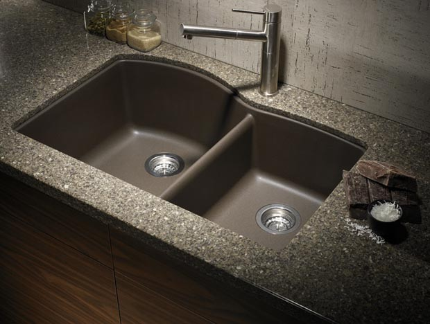 Blanco Silgranit Kitchen Sinks - Contemporary - Kitchen - Houston ...