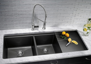 Blanco Silgranit Kitchen Sinks industrial-kitchen