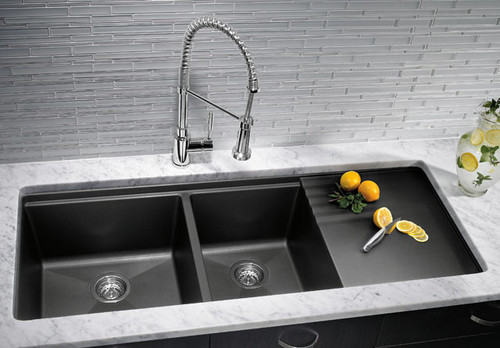 Granite Sinks: Both Beautful & Practical