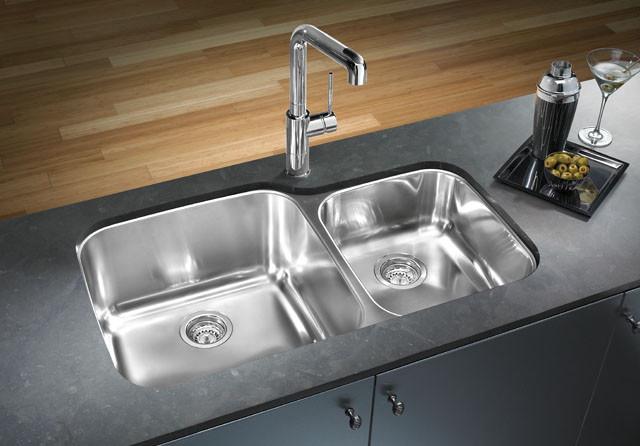 Http Www Houzz Co Uk Photos 558113 Blanco Stainless Steel Kitchen Sinks Contemporary Kitchen Houston