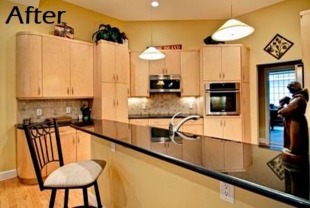 Blasé to Breathtaking modern-kitchen
