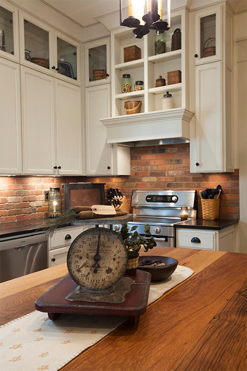 is the brick backsplash 39 thin 39 brick or 39 faux 39 brick