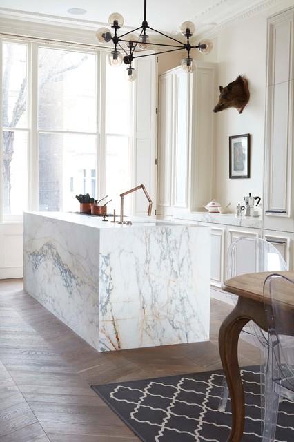 blenheim crescent transitional kitchen london by blakes london