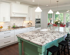 Bloomington New Home Construction traditional-kitchen
