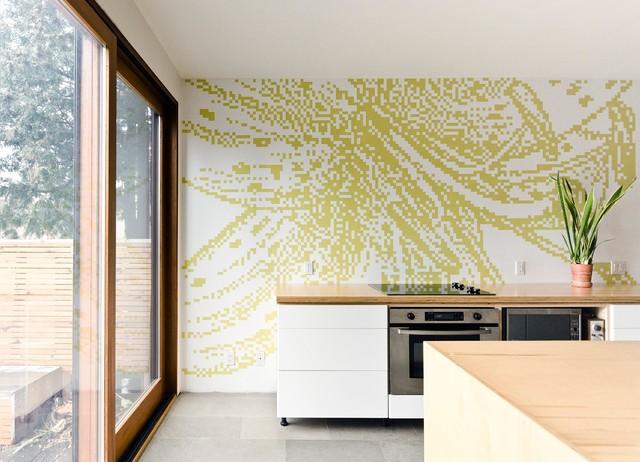 Bloordale Renovation modern-kitchen