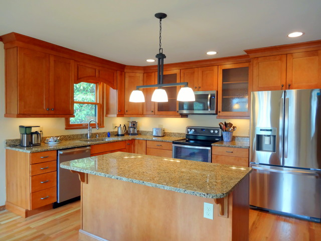 kitchen with wood cabinets blowing rock contemporary kitchen contemporary 6562