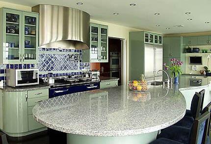 Blue Aga Kitchen Contemporary Kitchen Boston By K