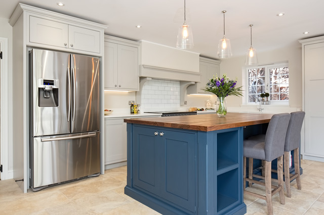 Blue Grey Kitchen Berkshire Industrial Kitchen Berkshire By Maple Gray