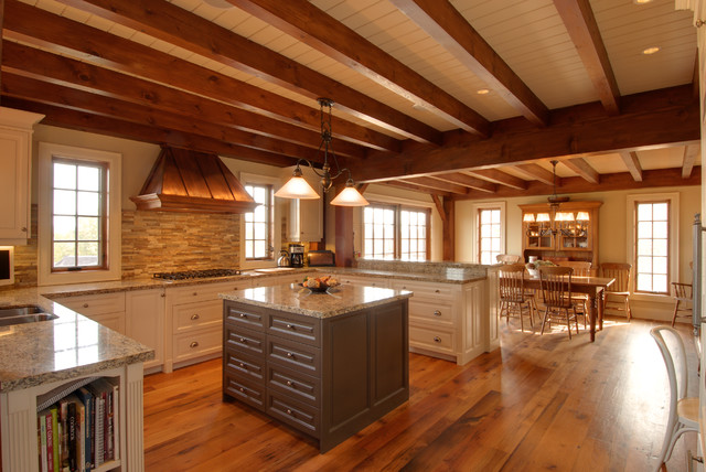 Blue Mountain Country Chic - Rustic - Kitchen - toronto - by Redman Watson Inc.