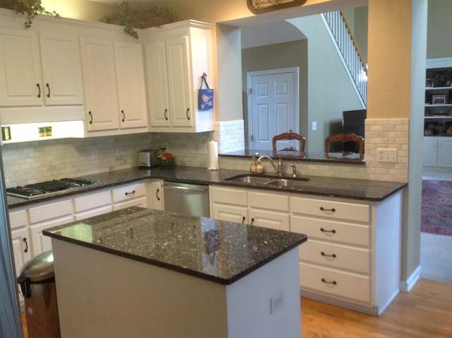 Blue Pearl Countertops Traditional