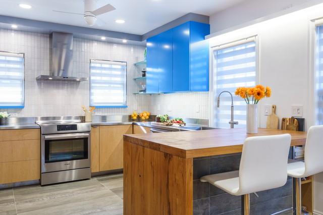 Blue Ribbon Kitchen Modern Kitchen Boston By Reverse