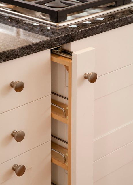 How To Add A Pullout Spice Rack, Spice Drawers Kitchen Cabinets