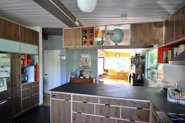 Mid Century Modern Kitchen Modern Kitchen Other