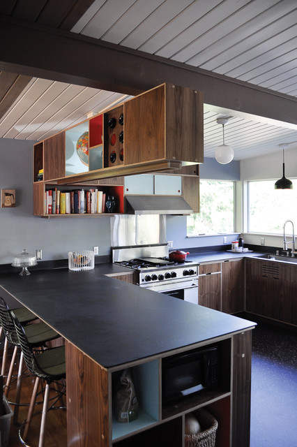 Mid Century Modern Kitchen modern-kitchen