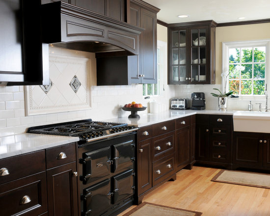 kitchens with wood cabinets home design ideas renovations amp photos 6657