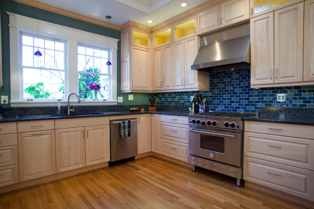 Blue Rubies Kitchen Traditional Kitchen Raleigh By
