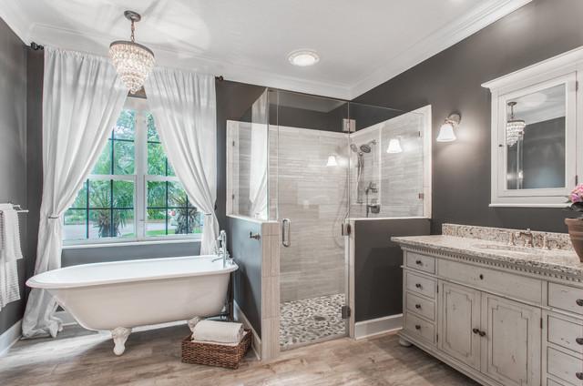 Miller rowe contemporary bathroom jacksonville for Bath remodel jacksonville fl