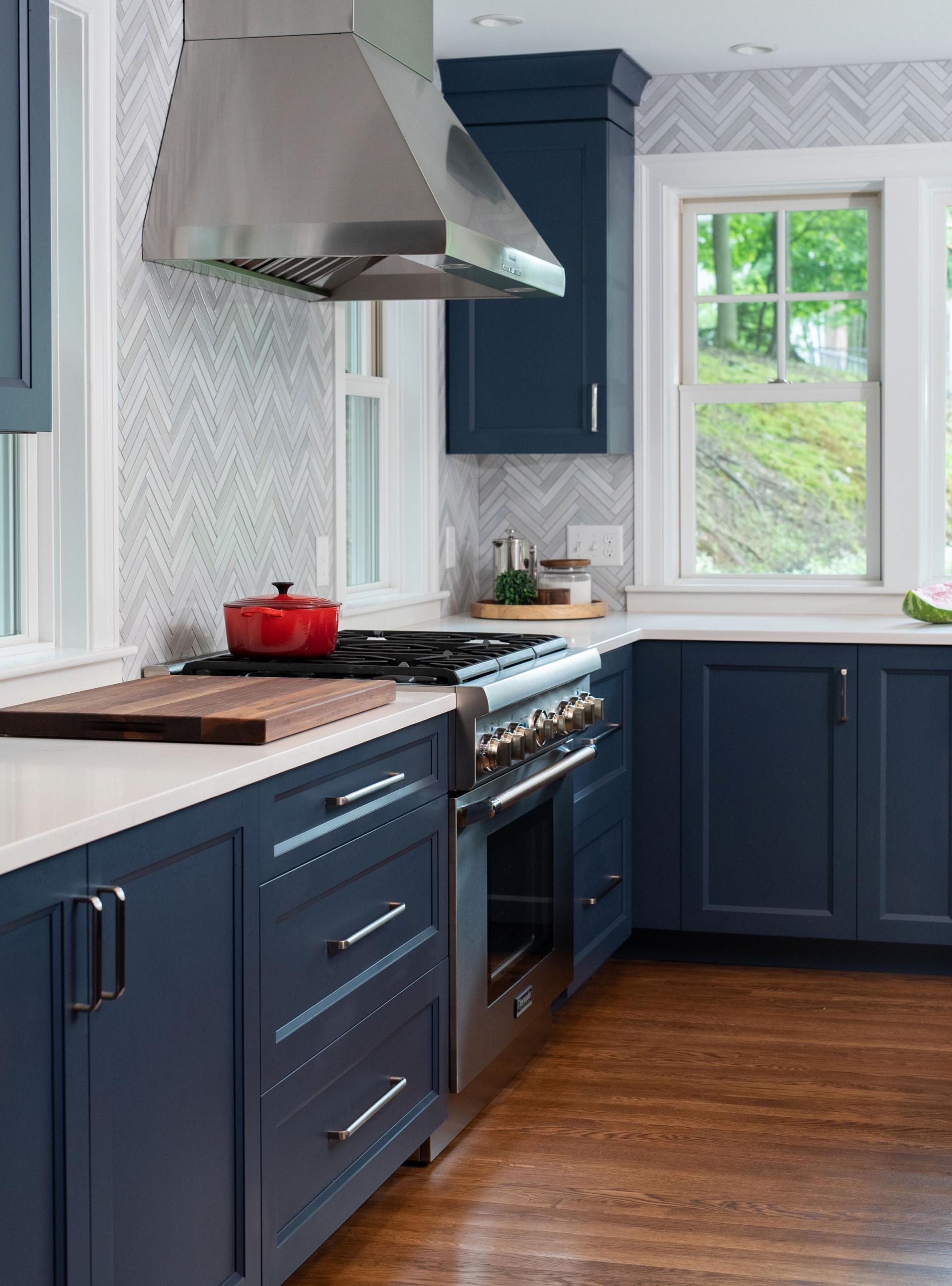 Blue Winchester Kitchen