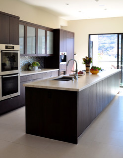 Bluebird Canyon Contemporary Kitchen Los Angeles