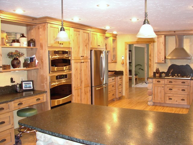Bluejay - farmhouse - kitchen - denver - by Castle Kitchens and