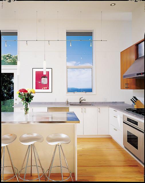 Blueridge residence contemporary-kitchen