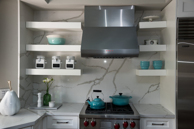 Blues in the Beaches transitional-kitchen