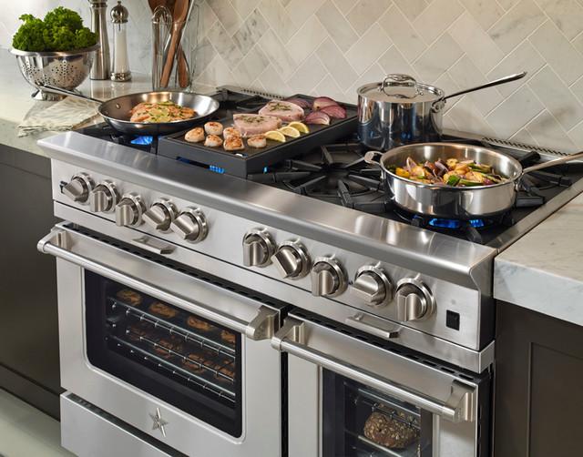 BlueStar Platinum Series 48quot Range Modern Kitchen  : modern kitchen from houzz.com size 640 x 502 jpeg 112kB