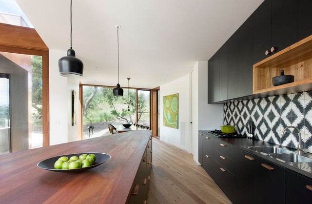 Bluff House Kitchen, Dining contemporary-kitchen