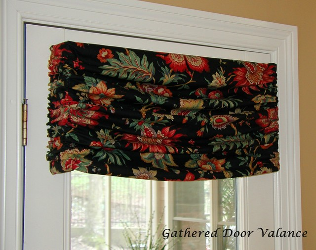 Board mounted valances - Eclectic - Kitchen - other metro - by The Interiors Workroom, Inc