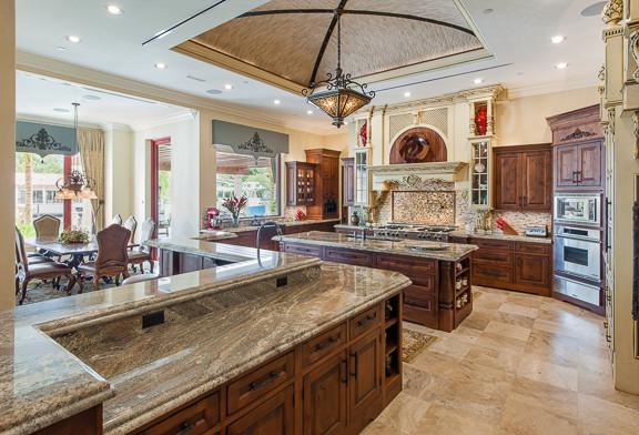 Boca Raton Residence Eclectic Kitchen Orlando By Saxon Clark Interiors