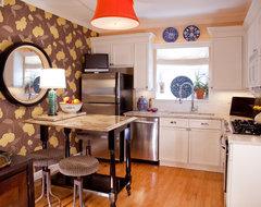 Bohemian Condo eclectic-kitchen