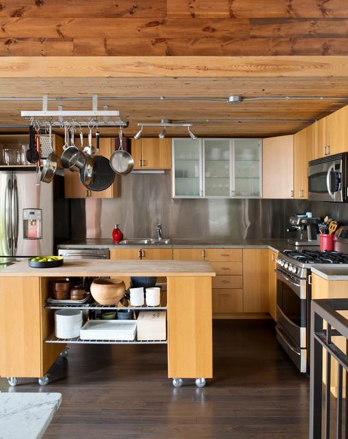 Boilers loft industriel cuisine toronto par pause - Cuisine loft industriel ...